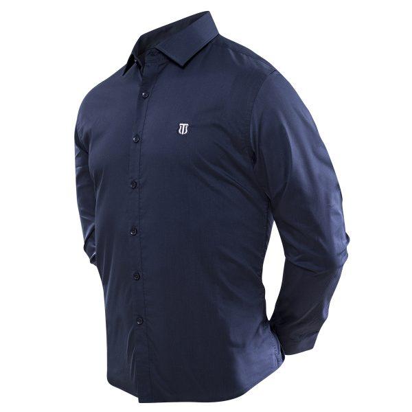 Camisa Azul 2018-6042