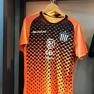 camiseta arquero talleres naranja