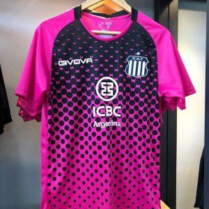 camiseta arquero talleres rosa