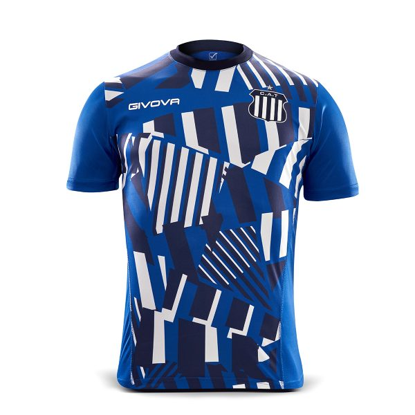 Remera Talleres Prepartido 2021 AZ-MR